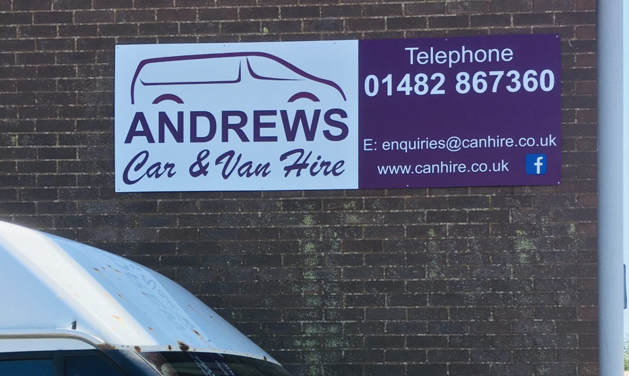 Andrews Self Drive, Beverley, Hull